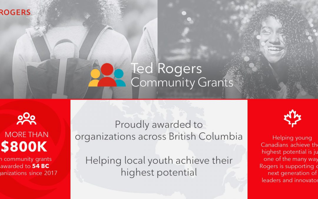 $25,000 awarded to BGCO through Ted Rogers Community grants